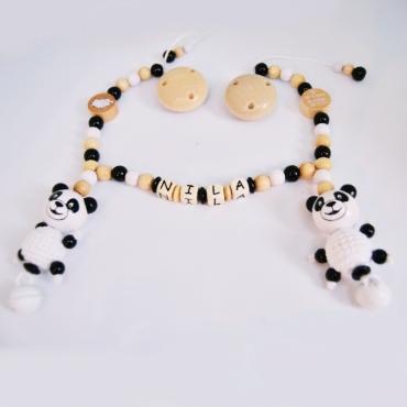 Kinderwagenkette *Pandas*